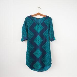 Renee C. (Stitch Fix) Silky Shift Dress